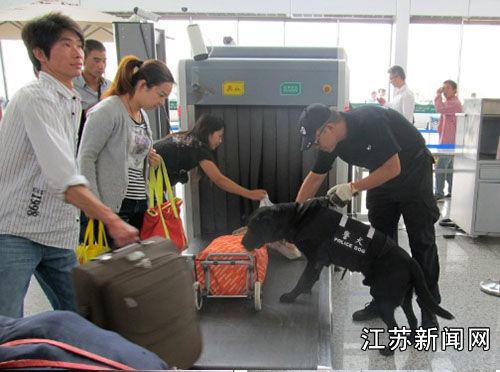 徐州铁警打击倒票缴获186张 新添警犬巡防